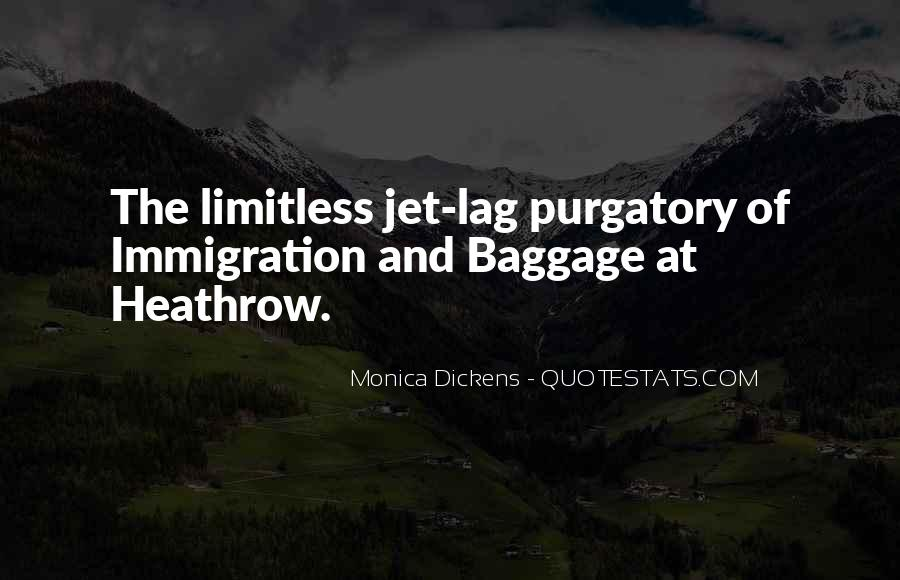 Quotes About Jet Lag #1607395