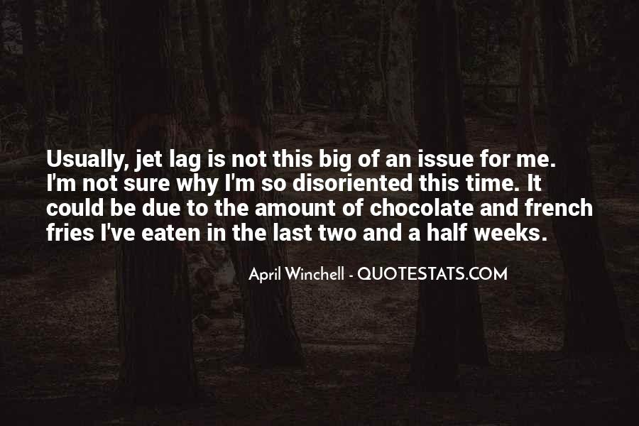 Quotes About Jet Lag #201895