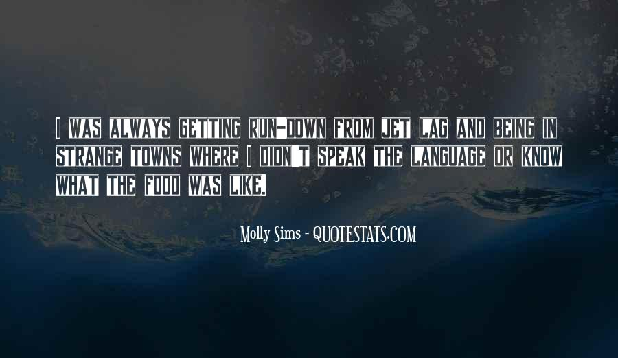 Quotes About Jet Lag #235731