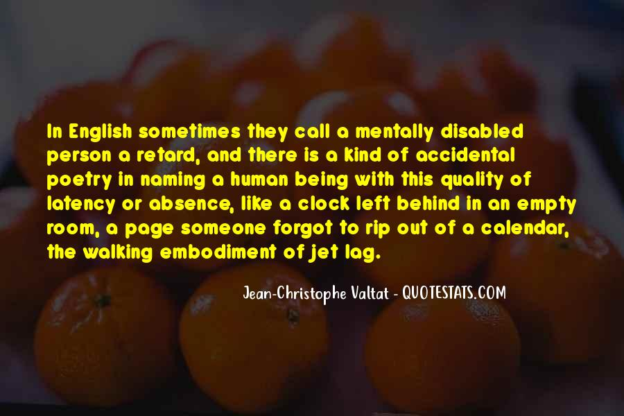 Quotes About Jet Lag #514598