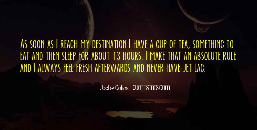 Quotes About Jet Lag #545740