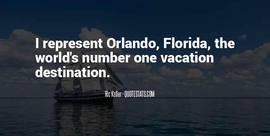 Quotes About Vacation In Florida #1003114