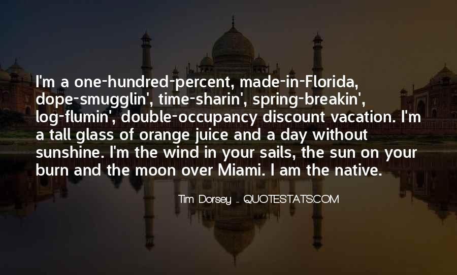Quotes About Vacation In Florida #8496