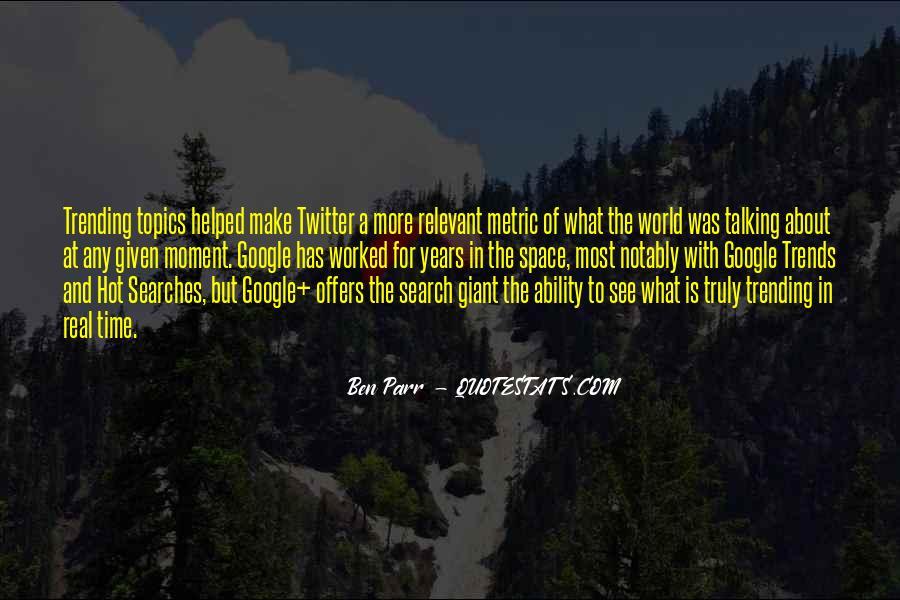 Quotes About Parr #1058733
