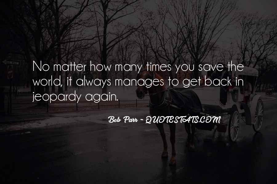 Quotes About Parr #487822