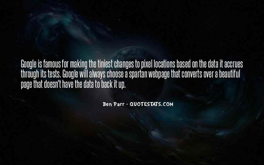 Quotes About Parr #516562