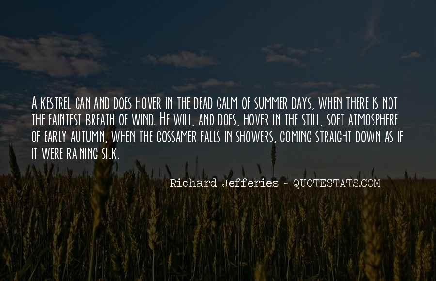 Quotes About Summer Showers #1635002