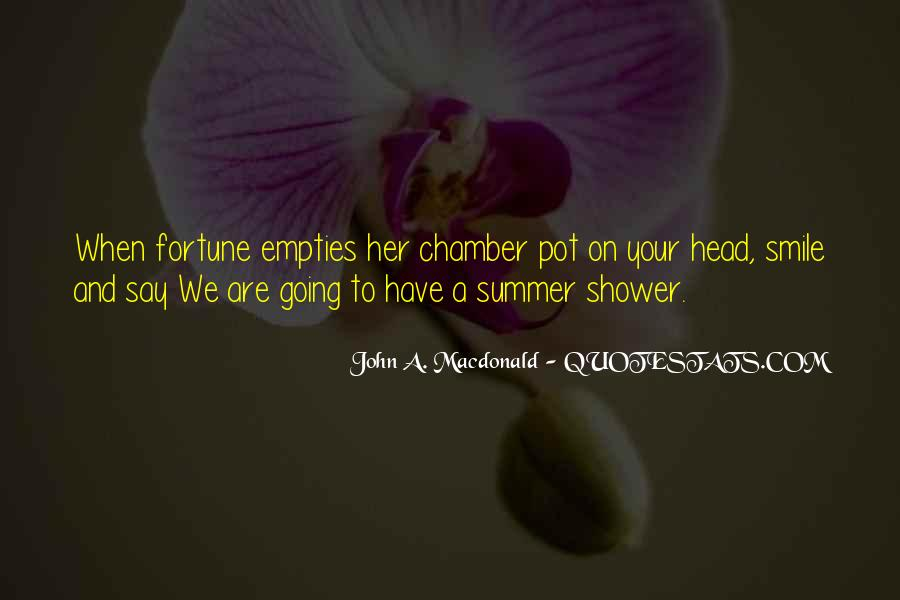 Quotes About Summer Showers #489851