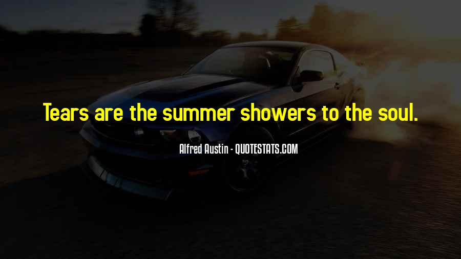 Quotes About Summer Showers #844737