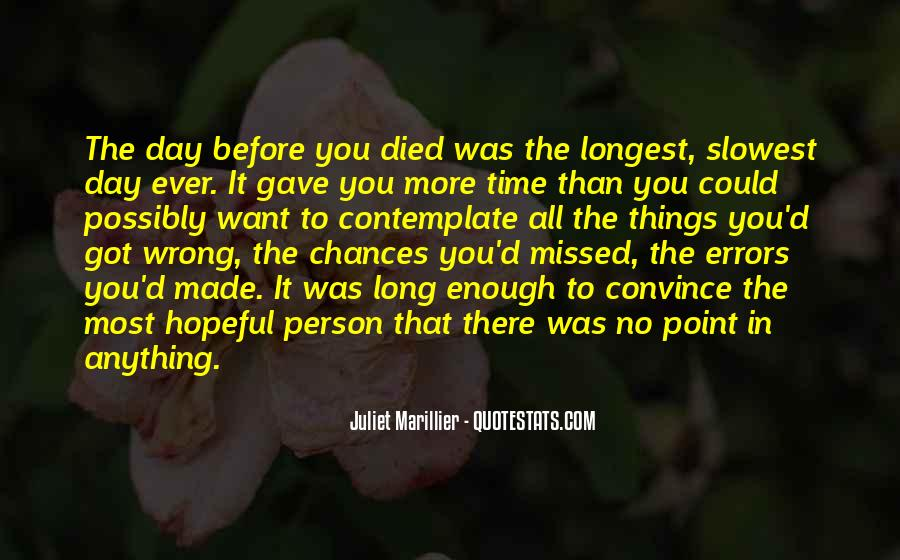 Quotes About Wrong Time #115277