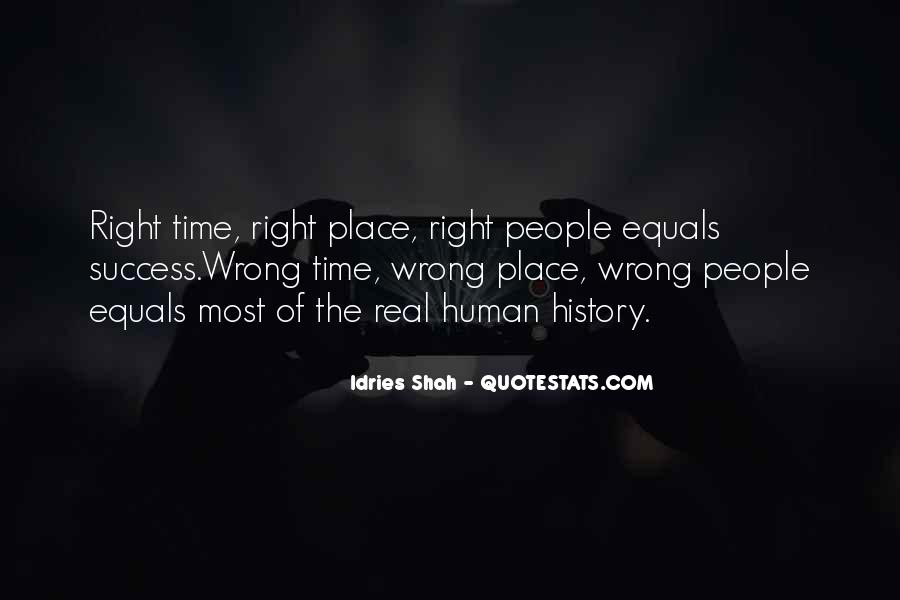 Quotes About Wrong Time #179116