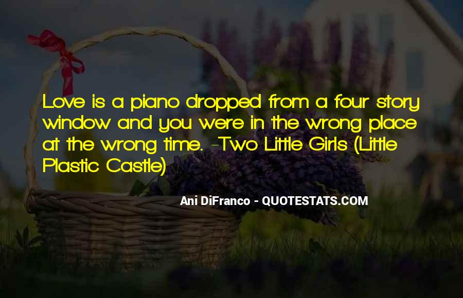 Quotes About Wrong Time #43601