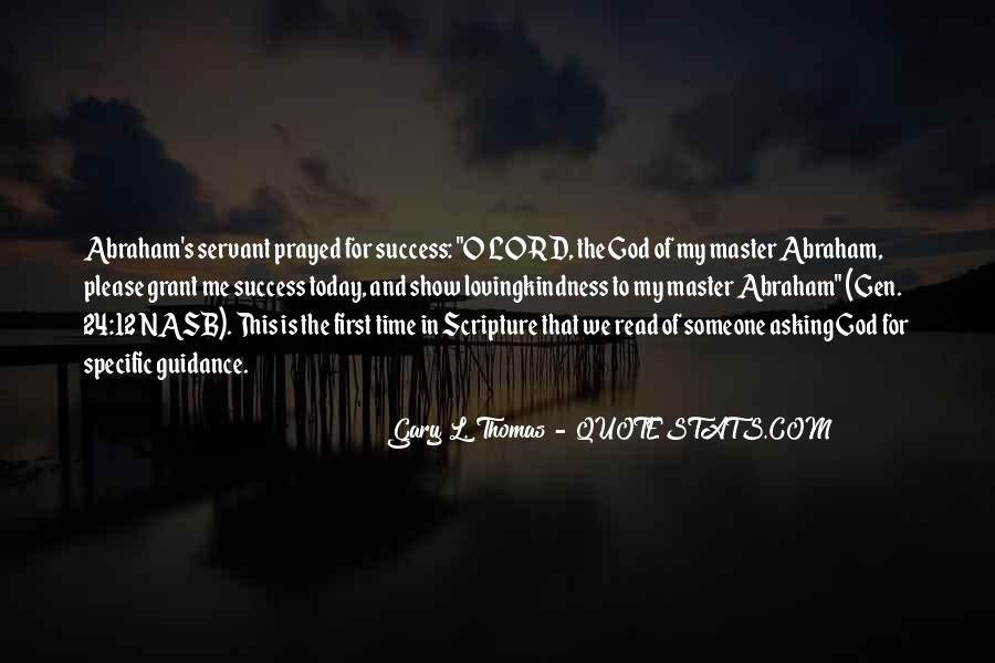 Quotes About Guidance From The Lord #1103933