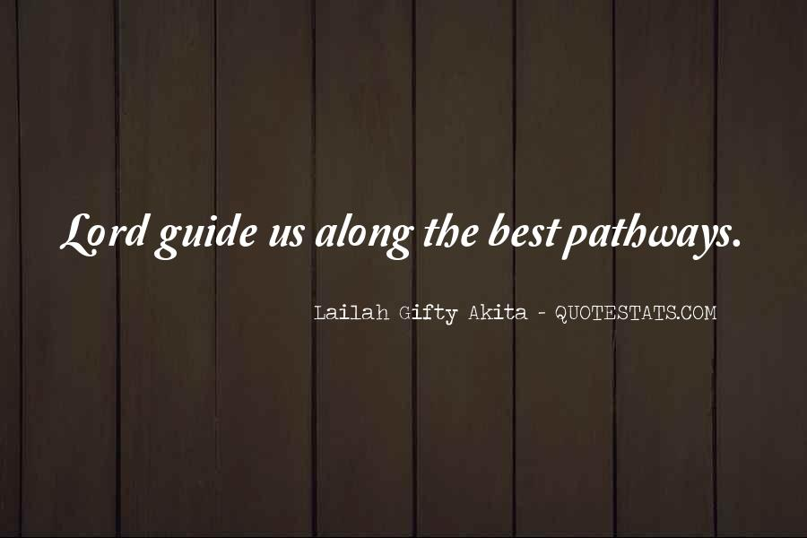 Quotes About Guidance From The Lord #1118125