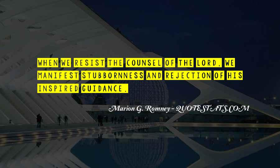Quotes About Guidance From The Lord #1179336