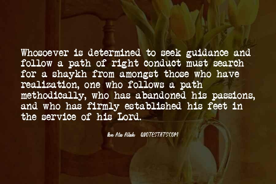 Quotes About Guidance From The Lord #560487