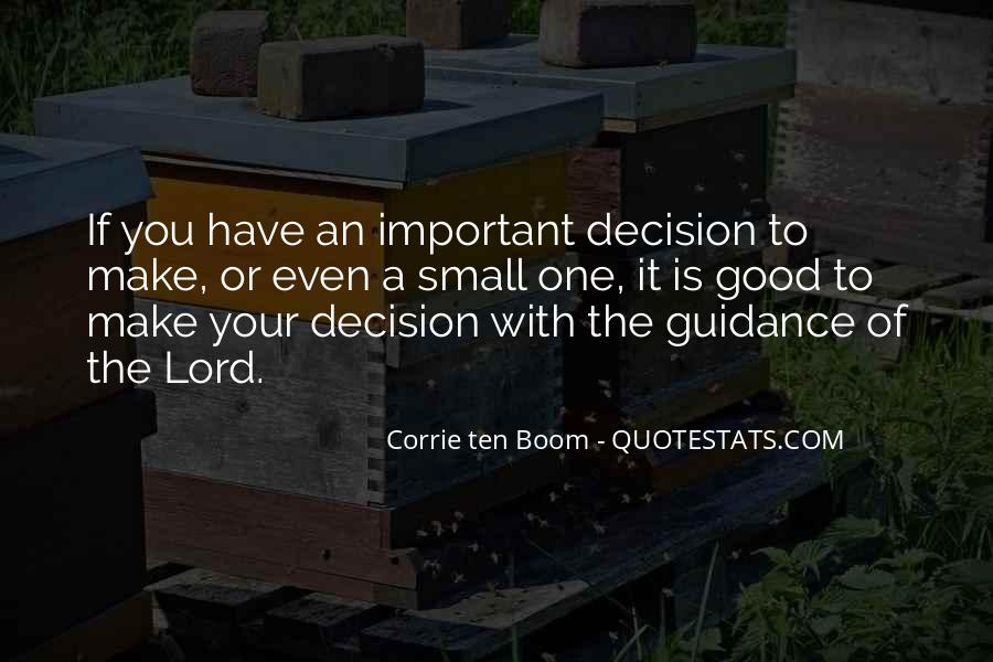 Quotes About Guidance From The Lord #969915