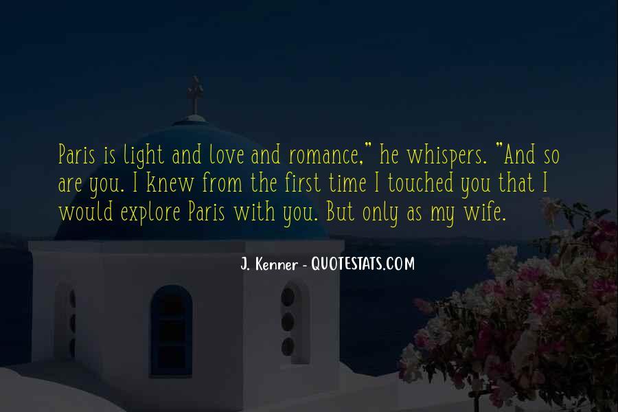 Quotes About Paris Romance #1023805