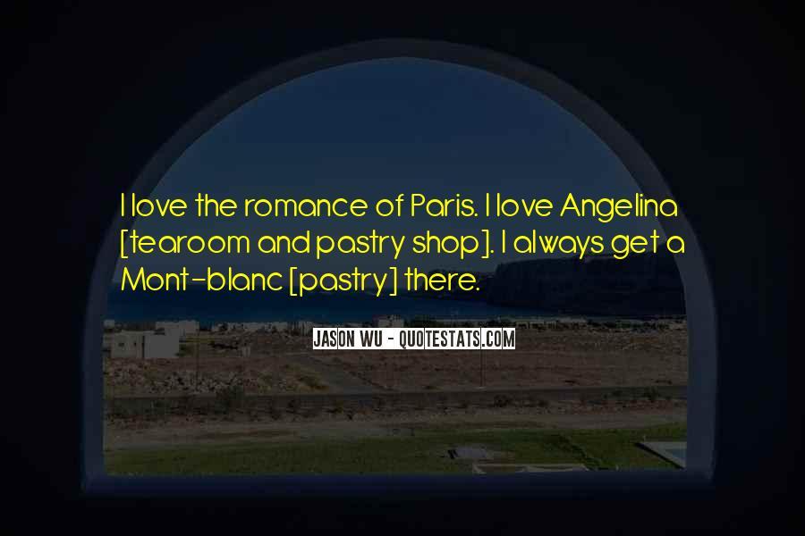 Quotes About Paris Romance #1725097
