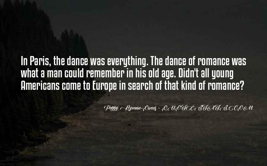 Quotes About Paris Romance #328782