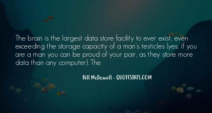 Quotes About Data Storage #1516435