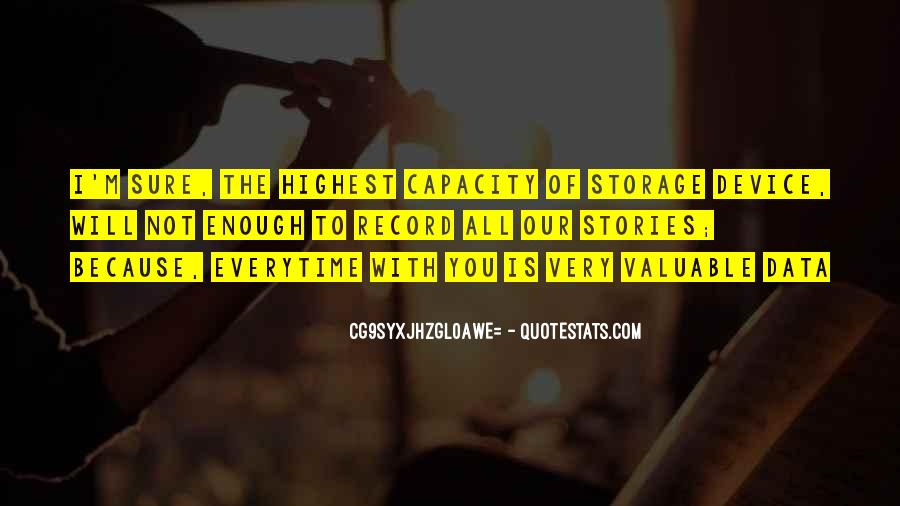 Quotes About Data Storage #958018