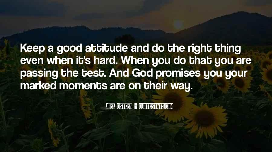 Quotes About Doing Good On A Test #143075