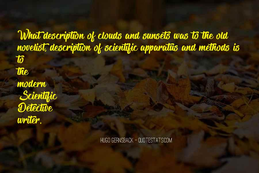 Quotes About Sunsets And Clouds #175373