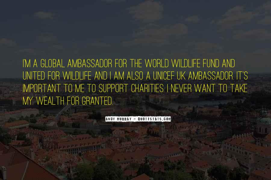Quotes About World Wildlife Fund #342196