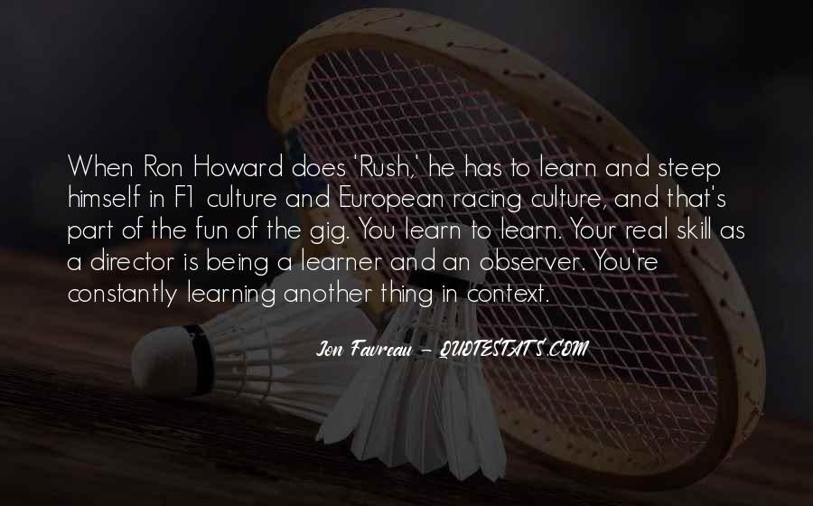 Quotes About Having Fun And Learning #89841