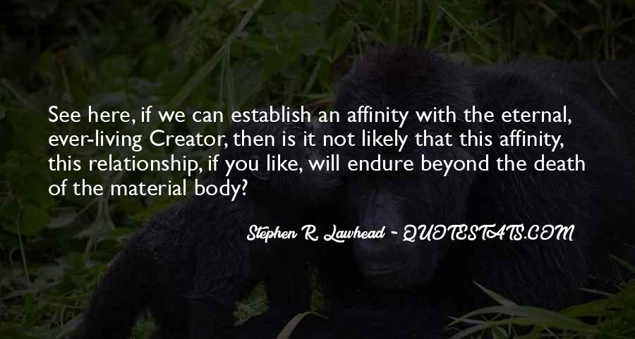Quotes About Affinity #511020