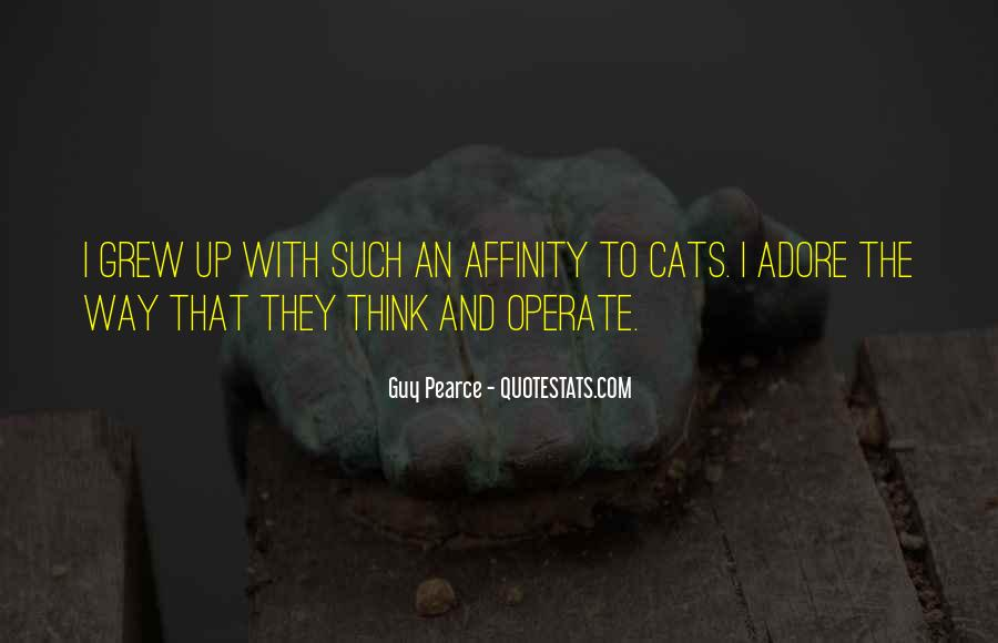 Quotes About Affinity #632177