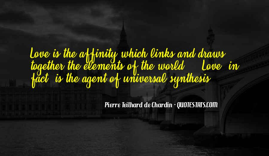 Quotes About Affinity #697577