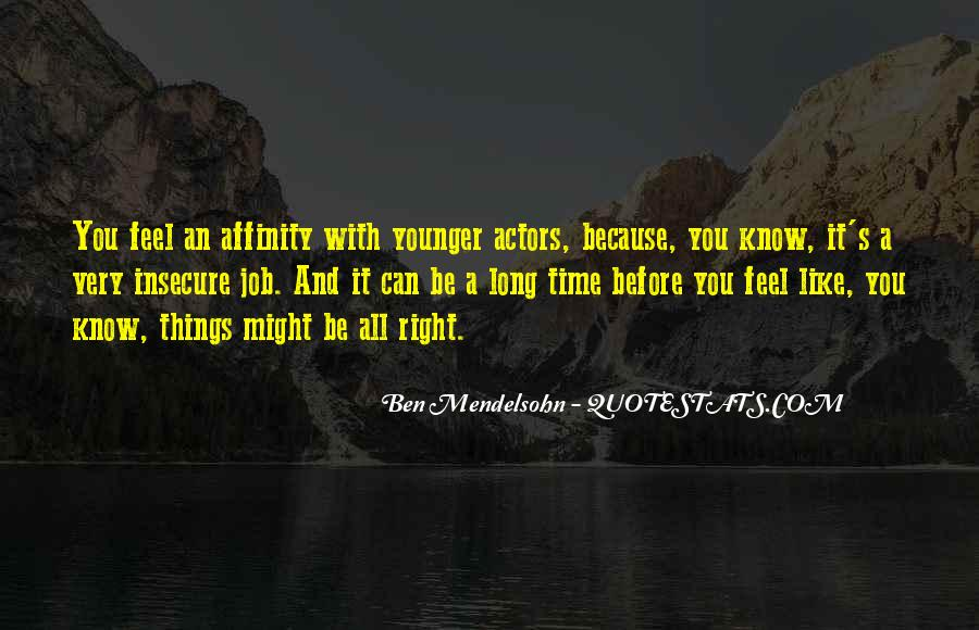 Quotes About Affinity #810759