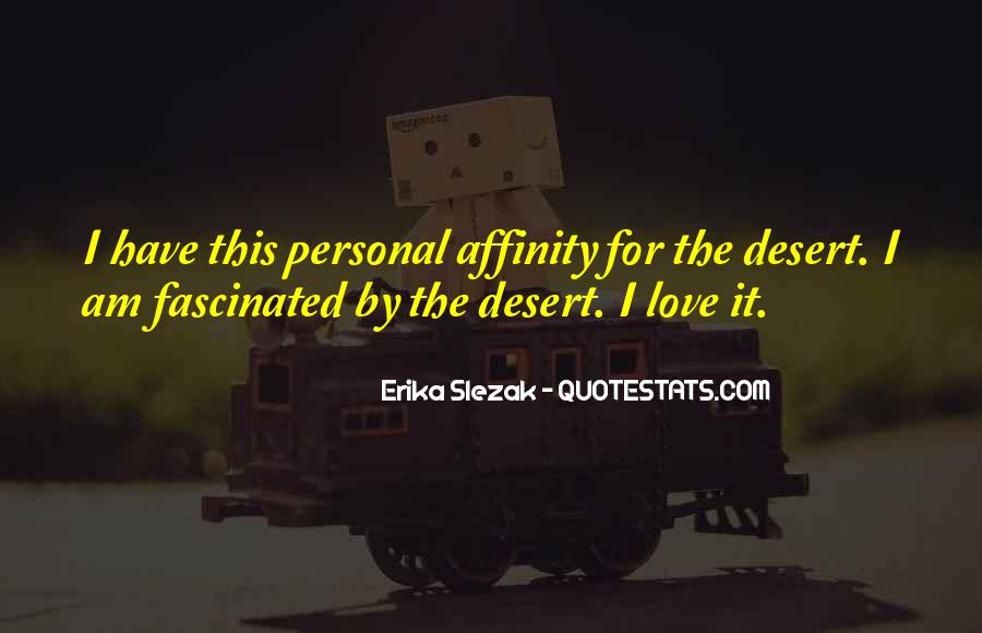 Quotes About Affinity #846773