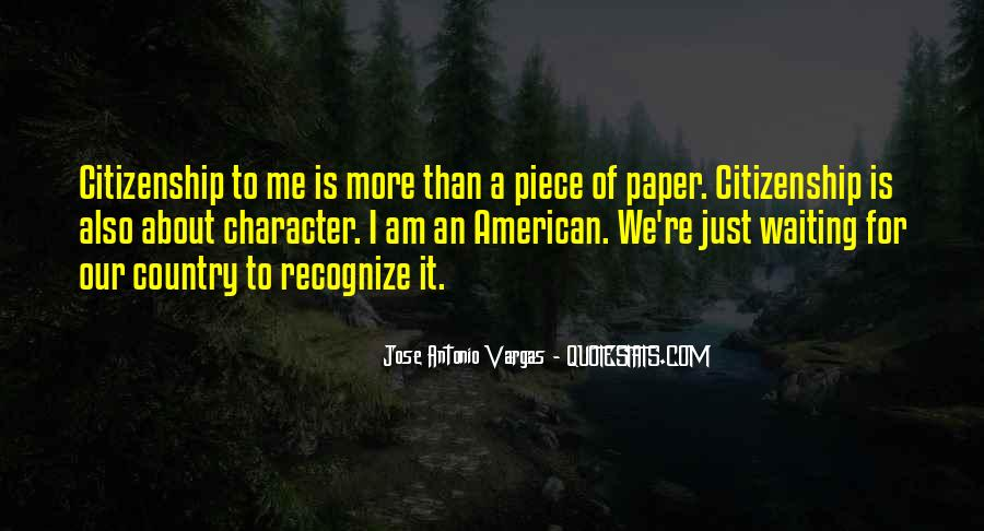 Quotes About American Citizenship #1016768
