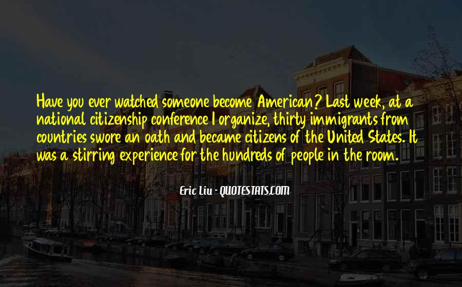 Quotes About American Citizenship #124182