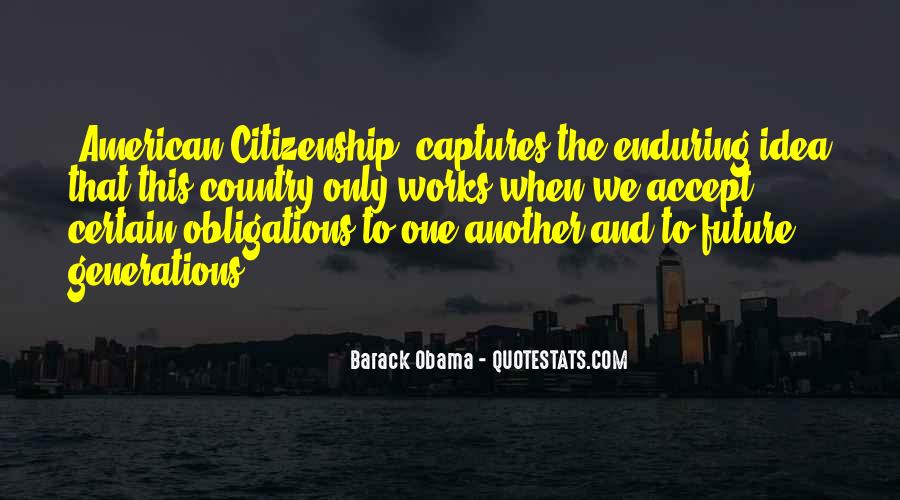 Quotes About American Citizenship #1402430