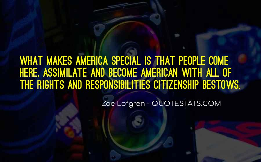 Quotes About American Citizenship #186488