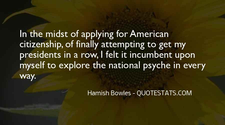 Quotes About American Citizenship #69601