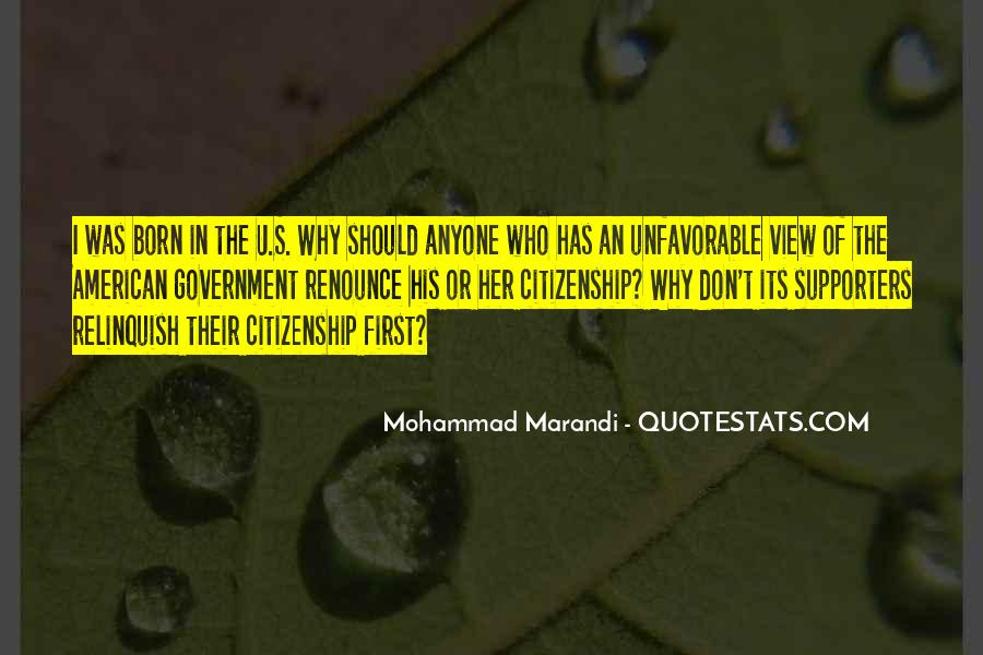 Quotes About American Citizenship #839200