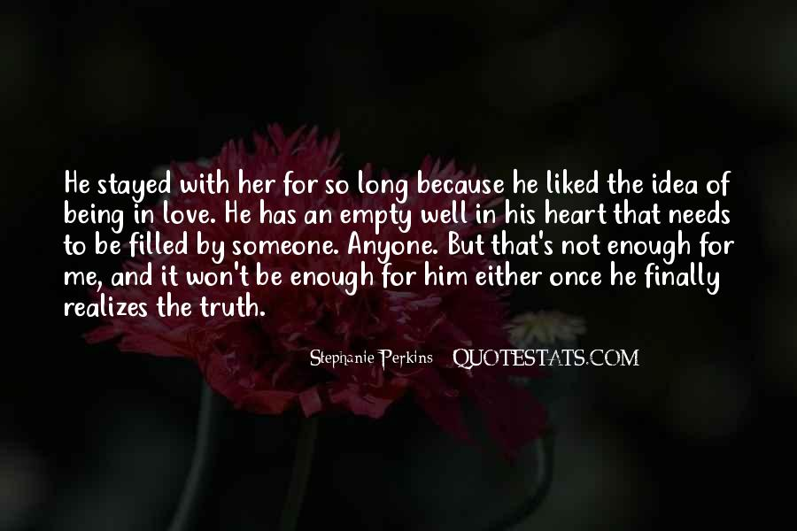 Quotes About Being So In Love With Her #487120