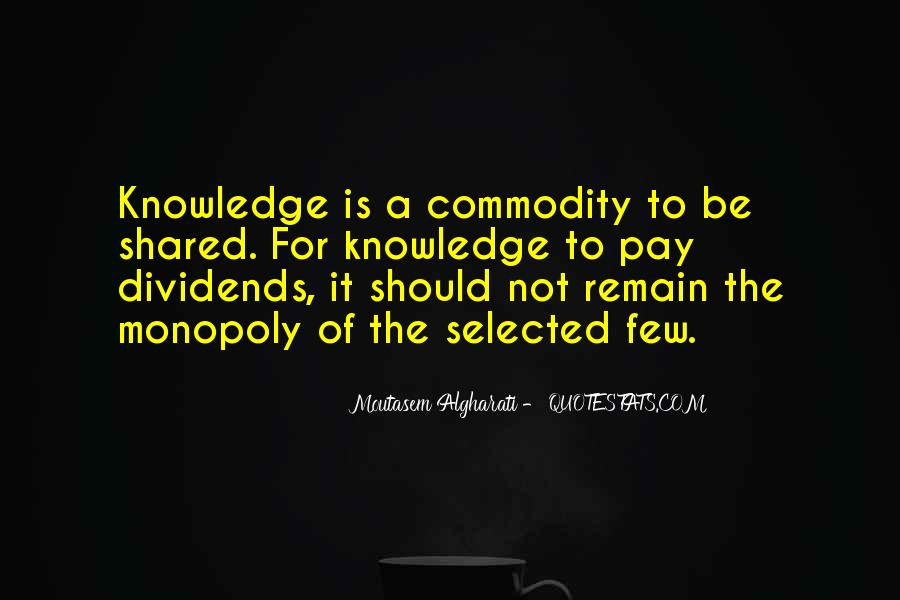 Quotes About Sharing Knowledge With Others #7571