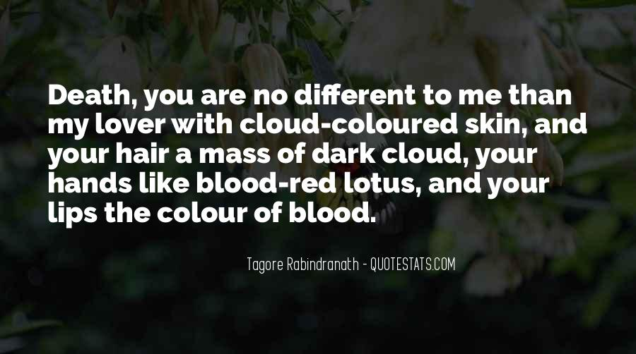 Quotes About Blood Red #106136