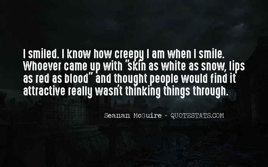 Quotes About Blood Red #112814