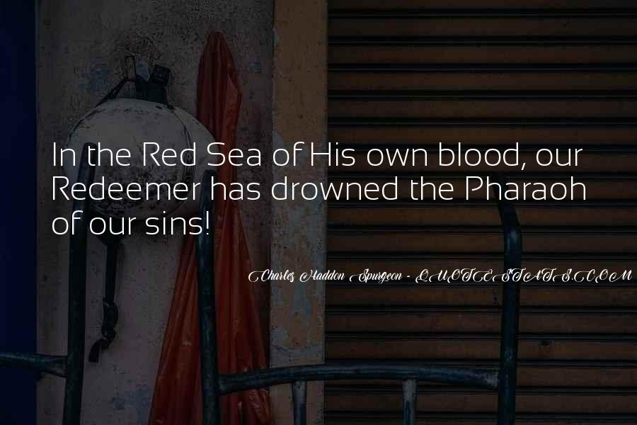Quotes About Blood Red #12020