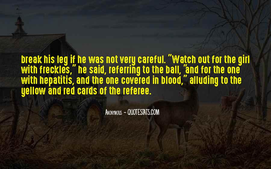 Quotes About Blood Red #126177