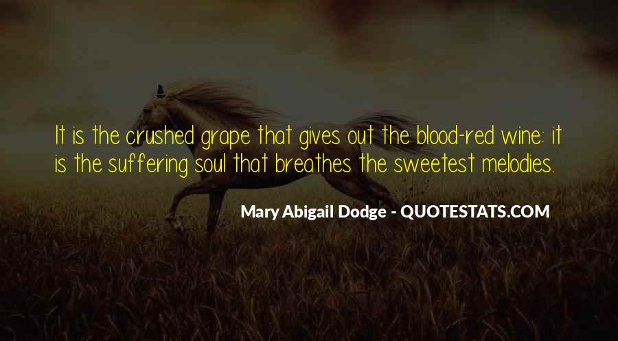 Quotes About Blood Red #132673