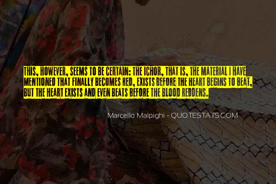 Quotes About Blood Red #215199
