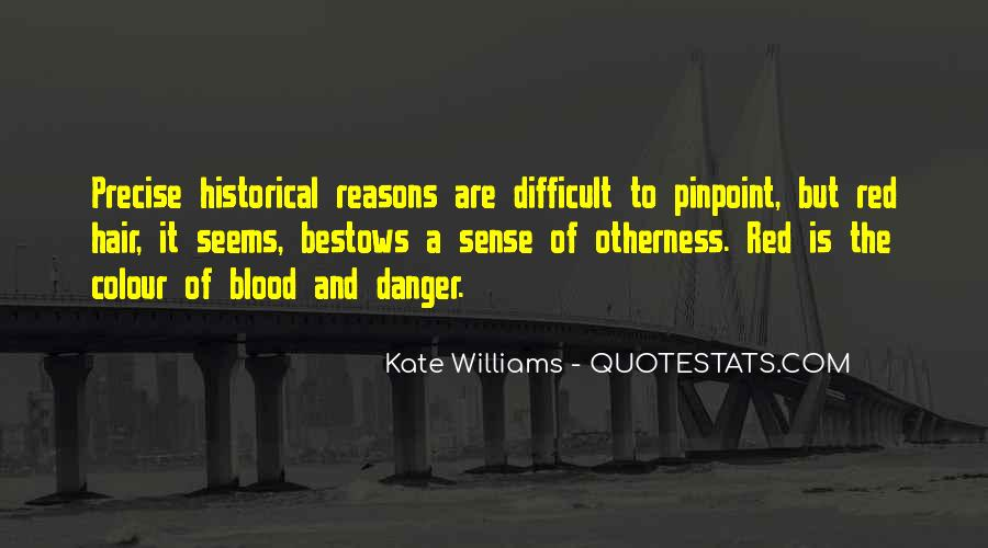 Quotes About Blood Red #230955